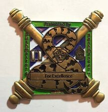 3rd Infantry Division ID Artillery OIF Iraq US Army Challenge Coin Bushmasters