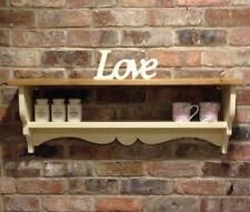 Shabby Chic Shelf/cabinet/wall Unit/shelf Unit In Cream