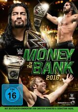 WWE Money in the Bank 2016 [DVD] *NEU* Deutsch, Englisch, Français, Español