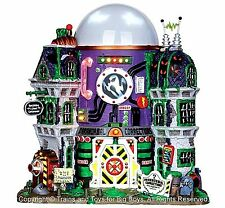 Lemax 35549 GHOST CONTAINMENT BUILDING Spooky Town Halloween Decor Lighted New I
