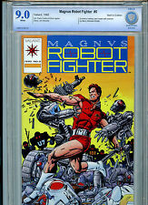 Magnus Robot Fighter Issue #0 Valiant Comics 1992 CBCS Graded 9.0 VF/NM