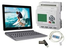 PLC Professional Programmable control Kit w Touchscreen Laptop Tablet, Software