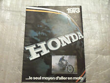 honda cb750 cb550 ct70  z50  sl  nos  genuine original dealer sales brochure