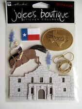 JOLEE'S BOUTIQUE 3D STICKERS - TEXAS