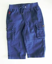Polo Ralph Lauren Boys Chino Long Pants Observer Blue Sz 3M - NWT