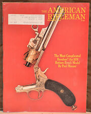 Vintage Magazine American Rifleman, NOVEMBER 1976 !!! RUGER MINI-14 RIFLE !!!