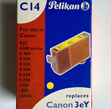 Pelikan C14 Yellow 957 Replaces Canon 3eY Für BJC 6000 series S400-750 i550-6500