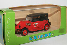 Eligor, 1927 Citroen Fire Chief Car, 1/43 Scale Diecast,  New in Box