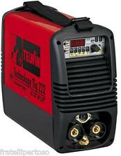 SALDATRICE TELWIN TECHNOLOGY TIG 222 AC/DC - HF/LIFT INVERTER