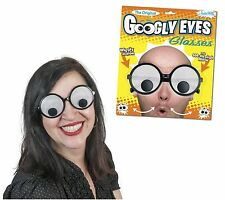 Googly Eyes Glasses Costume Accessory Funny Humor Gag Gift Fun New