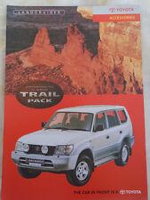 Toyota Land Cruiser Colorado Gx 5 puertas Trail Pack folleto de accesorios c2000's