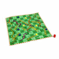 NEW GIANT SNAKES & LADDERS FAMILY FLOOR PLAYMAT BOYS GIRLS STOCKING FILLER GIFT