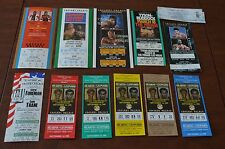 NICE BOXING TICKET COLLECTION!!! MUST SEE!!! 13 TICKETS!!! MUST SEE!!!