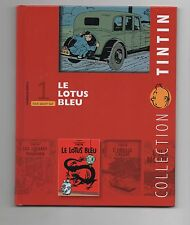 Collection Tintin Moulinsart Hachette 2010. n°1. Le Lotus Bleu. NEUF