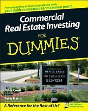 Commercial Real Estate Investing For Dummies by Peter Conti, (Paperback), For Du