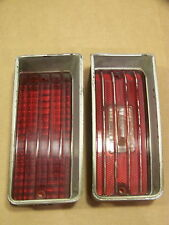 1970 CHEVY IMPALA CAPRICE BEL AIR BISCAYNE RH TAIL LIGHT & REVERSE LIGHT LENSES