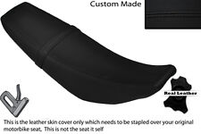 BLACK STITCH CUSTOM FITS YAMAHA WR 125 R X 09-13 DUAL LEATHER SEAT COVER