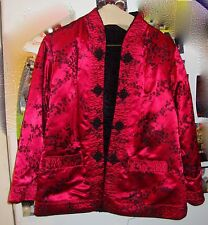 Vintage Red Embroidered Jacket  China