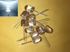 -- (25 pieces) 10mm white LED light diode bulb