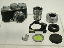 ROBOT II Set Super Bello Beautiful 1,9/40 3,8/75 Rangefinder ecc./14k