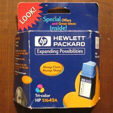 PWC Hewlett Packard Tri-Color HP 5164A  Printer Cartridge Sealed in Packaging
