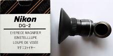 Nikon DG-2 Eye Piece Magnifier 2X +DK-22 for D300, D200