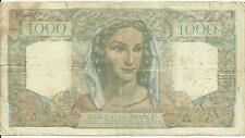France 1000 Francs 1949 in Banknote 2RF 3DIC