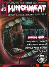 Lunchmeat #8 Fred Olen Ray VHS Paul Kyriazi Roger Nygard Martin Campbell