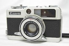 Canon Demi EE 17 Half Frame Film Camera w/SH 30mm F/1.7 Lens SN393533 *As-Is*