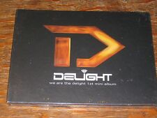 Delight - We Are The ... 1st Mini Album CD NEW in deluxe package mega yak k-pop