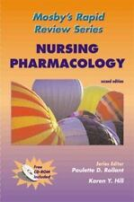 Mosby's Rapid Review Series: Nursing Pharmacology (Book with CD-ROM for Windows