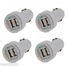 4 X 2.1A Dual USB 2-Port Car Charger Adaptor for iPhone 5 5S 5C 4S Galaxy S4 3 2