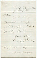 1866 U.S. Attorney General Reverdy Johnson Autograph Letter Signed