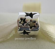 Genuine Authentic Pandora Sterling Silver Seeing Stars Charm 790348