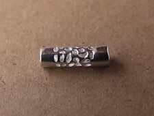 Sterling Silver Tube DREADLOCK BEADS 4.5mm/0.18inch Hole