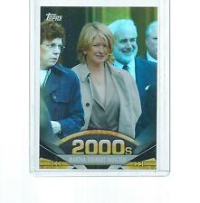 2011 TOPPS AMERICAN PIE FOIL MARTHA STEWART INDICTED #184