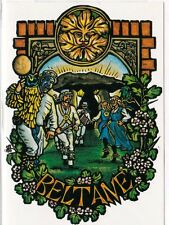 BELTANE FESTIVAL GREETING CARD - 1st May -  PAGAN WICCAN Solstice HEDINGHAM FAIR