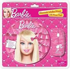 Barbie Wireless Mouse WITH mouse pad(ZVBR-4400) Combo Set  (Pink)
