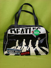 DISASTER DESIGNS  E U C BEATLES ABBY ROAD WEEKEND TOTE SHOLDER BAG WITH 3 PINS