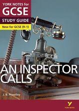 Un inspector llamadas guía de estudio: York Notas Para GCSE Literatura Inglesa grado 9-1