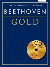 The Essential Collection Beethoven Gold Play CLASSICAL Piano Music Book & CD