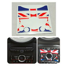 Resin Union Jack Centre Climate Console Dashboard Decal Sticker For Mini One