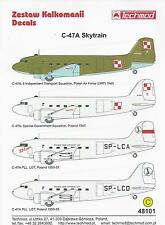 C-47A 1/48 scale 48101 Techmod decals