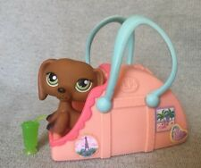 Hasbro LPS Littlest Pet Shop Portable Pets Playset #139 Dachshund w/ Carrier