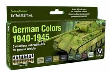 VALLEJO FARBSET Model Air: Model Air Set German Vehicles Colors 1940-1945 (8)