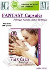 Fantasy 10 caps Female Sex Stimulant Pills Herbal Libido Enhancer Supplement