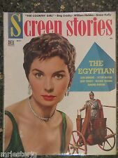 Screen Stories Magazine October 1954  Grace Kelly VINTAGE ADS Jean Simmons