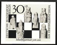 BERLIN FOTO-ESSAY 435/438 SCHACH 1972 CHESS AJEDREZ SZACHY PROOF RARE! a368