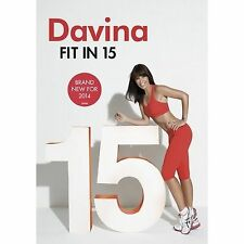 Davina - Fit In 15 (DVD, 2013)