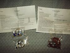 DO IT YOURSELF LEATHER NECKLACE & 2 WIRE NECKLACES with INSTRUCTIONS NEW